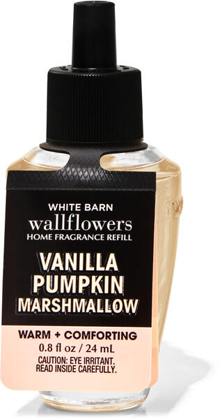 Vanilla Pumpkin Marshmallow Wallflowers Fragrance Refill