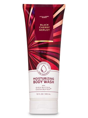 Black Cherry Merlot Moisturizing Body Wash - Bath And Body Works