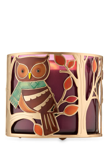 Fall Critters 3-Wick Candle Holder - Bath And Body Works