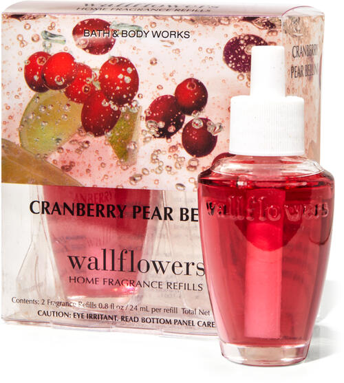 Cranberry Pear Bellini Wallflowers Refills, 2-Pack