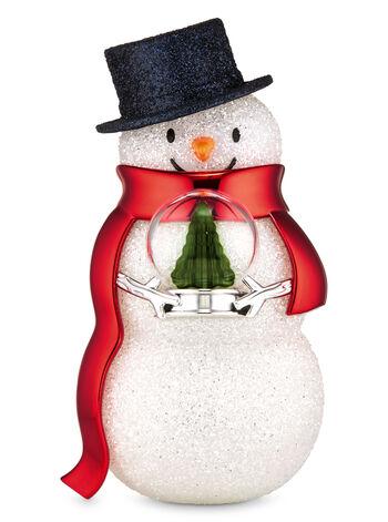 Snowman with Snow Globe Nightlight Wallflowers Fragrance Plug