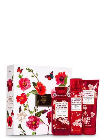 Japanese Cherry Blossom Gift Box Set - Bath And Body Works