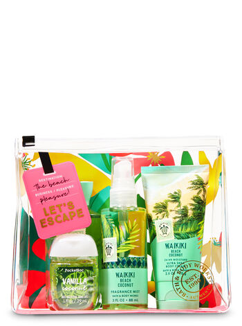 Crazy for Coconut Mini Cosmetic Bag Gift Set