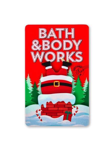 Santa in Chimney Gift Card