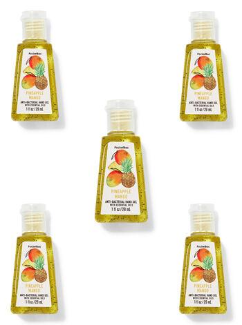 Pineapple Mango PocketBac Hand Sanitizers, 5-Pack