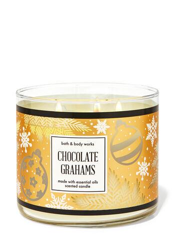 Chocolate Grahams 3-Wick Candle
