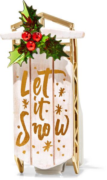 Let it Snow Sled Wallflowers Fragrance Plug