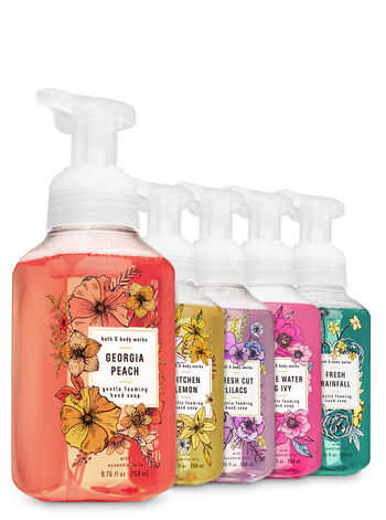 Fresh & Springy Gentle Foaming Hand Soap, 5-Pack - Bath And Body Works