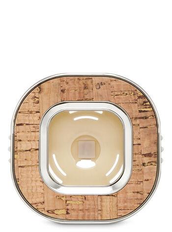 Square Cork Vent Clip Car Fragrance Holder