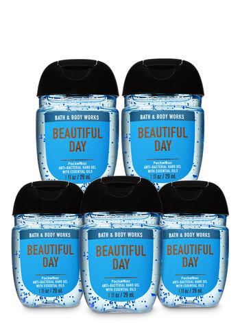 Beautiful Day PocketBac Hand Sanitizer, 5-Pack