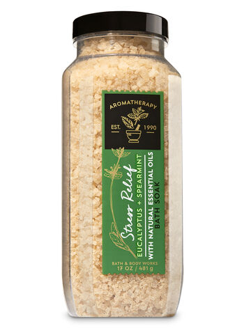 Aromatherapy Eucalyptus Spearmint Bath Soak - Bath And Body Works
