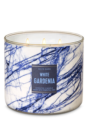 White Gardenia 3-Wick Candle - Bath And Body Works