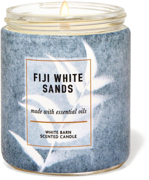 Fiji White Sands Single Wick Candle