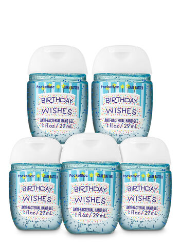 Birthday Wishes PocketBac Hand Sanitizers, 5-Pack - Bath And Body Works