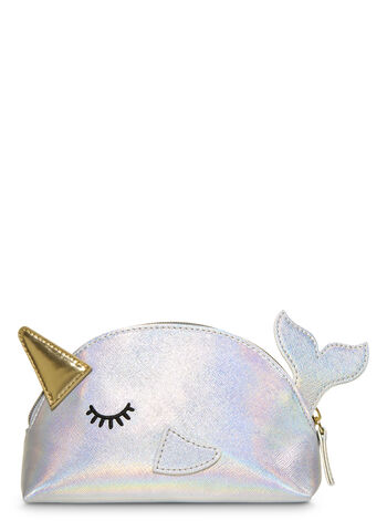 A Thousand Wishes Mini Narwhal Cosmetic Bag Gift Set