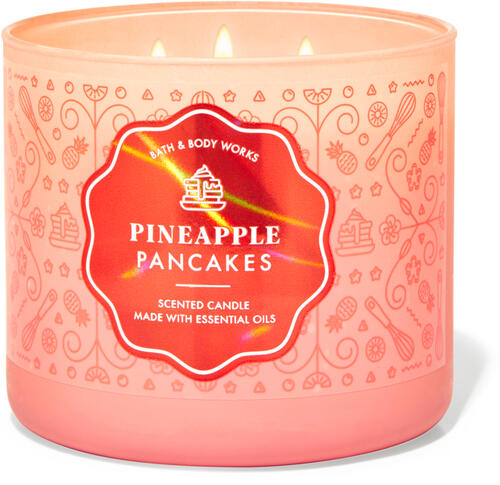 Pineapple Pancakes 3-Wick Candle