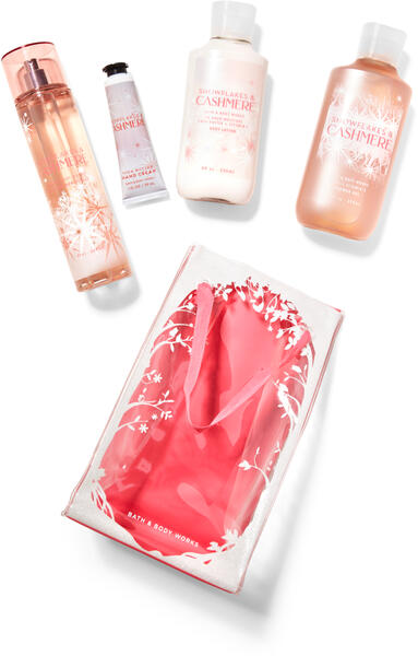 Snowflakes & Cashmere Gift Bag Set