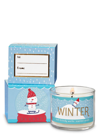 Winter Mini Candle - Bath And Body Works