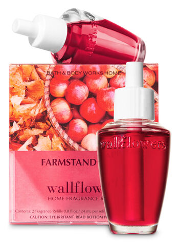 Farmstand Apple Wallflowers Refills, 2-Pack - Bath And Body Works