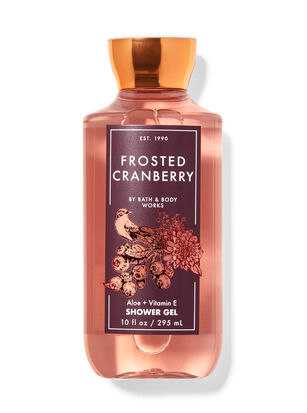 Frosted Cranberry Shower Gel