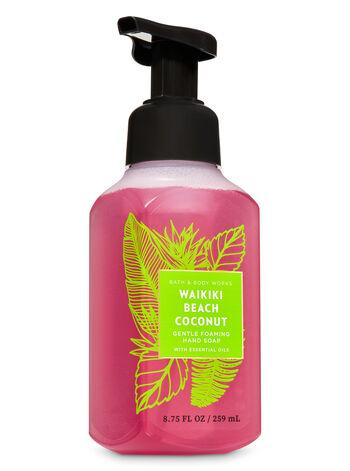 Waikiki Beach Coconut Gentle Foaming Hand Soap - Bath And Body Works