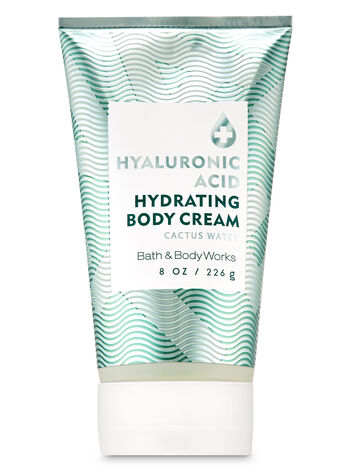 Cactus Water Hyaluronic Acid Hydrating Body Cream - Bath And Body Works