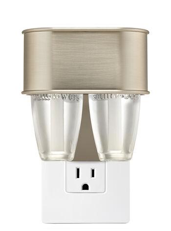Satin Nickel Nightlight Scent Switching™ Wallflowers Duo Plug