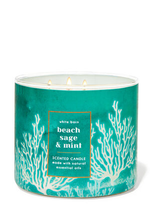 Beach Sage & Mint 3-Wick Candle
