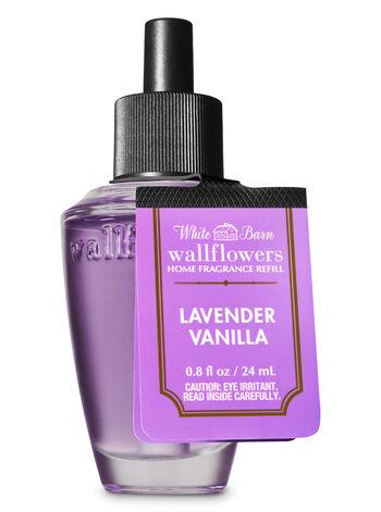 White Barn Lavender Vanilla Wallflowers Fragrance Refill - Bath And Body Works