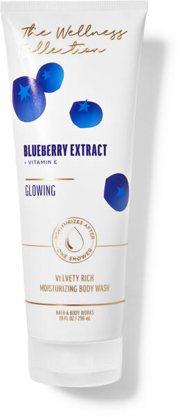 Blueberry Extract Moisturizing Body Wash
