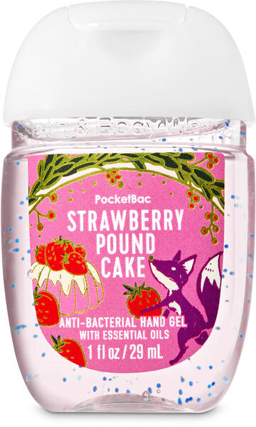 Strawberry Pound Cake PocketBac Hand Sanitizer