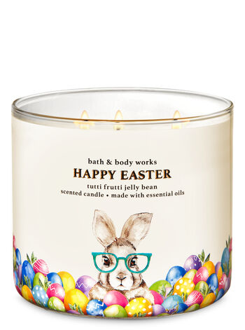 Tutti Frutti Jelly Bean 3-Wick Candle - Bath And Body Works
