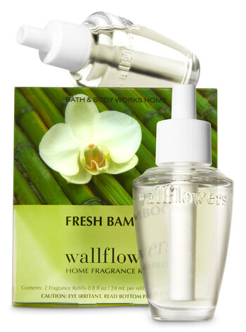 Fresh Bamboo Wallflowers Refills, 2-Pack - Bath And Body Works