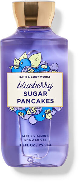 Blueberry Sugar Pancakes Shower Gel