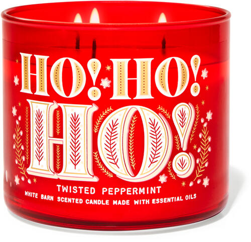 Twisted Peppermint 3-Wick Candle