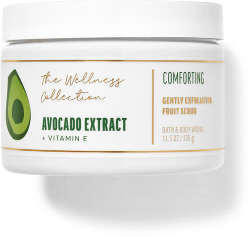 Avocado Extract Gently Exfoliating Fruit Scrub
