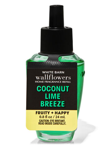 Coconut Lime Breeze Wallflowers Fragrance Refill