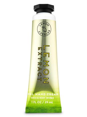 Lemon Extract Gel Hand Cream - Bath And Body Works