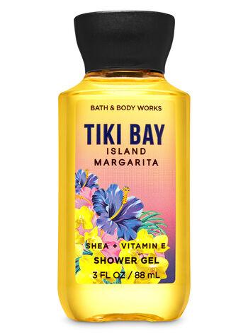 Tiki Bay Island Margarita Travel Size Shower Gel - Bath And Body Works
