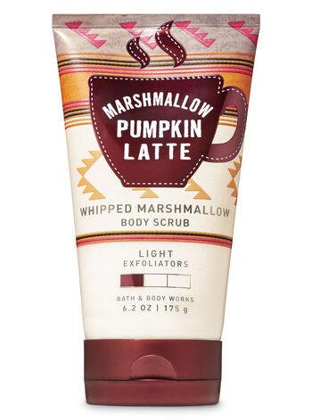 Marshmallow Pumpkin Latte Whipped Marshmallow Body Scrub - Bath And Body Works