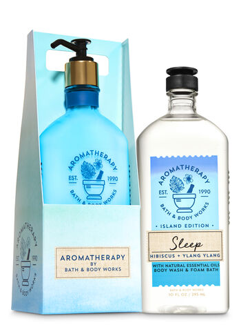 Aromatherapy Hibiscus Ylang Ylang Peaceful Paradise Gift Set - Bath And Body Works