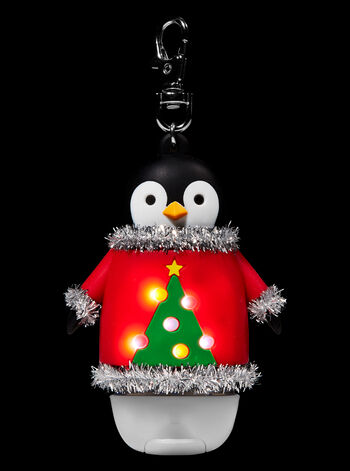 Christmas Penguin Light-Up PocketBac Holder