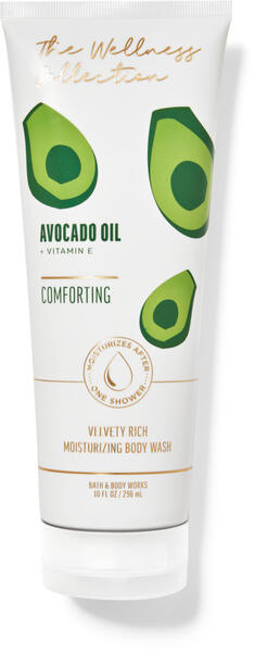 Avocado Extract Moisturizing Body Wash