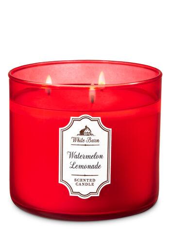 Watermelon Lemonade 3-Wick Candle - White Barn | Bath ...