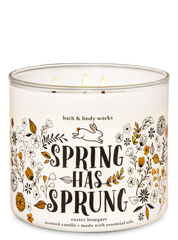 Easter Bouquet 3-Wick Candle - Bath And Body Works