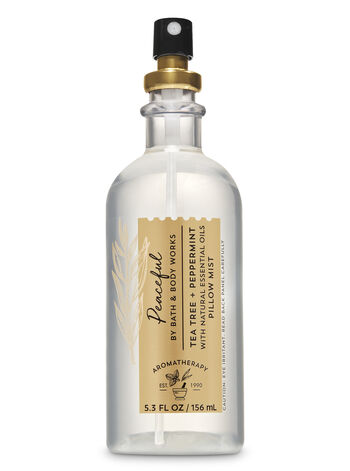 Aromatherapy Tea Tree Peppermint Pillow Mist - Bath And Body Works