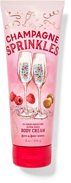 Champagne Sprinkles Ultra Shea Body Cream