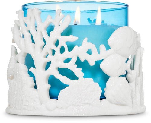 Coral Reef 3-Wick Candle Holder