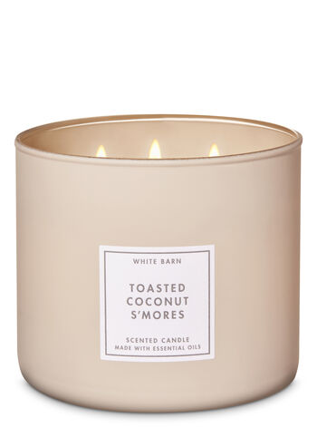 Toasted Coconut Smores 3-Wick Candle