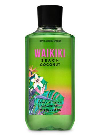 Waikiki Beach Coconut Shower Gel - Bath And Body Works